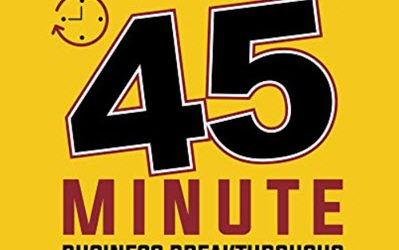 45 Minute Business Breakthrough Book Launch