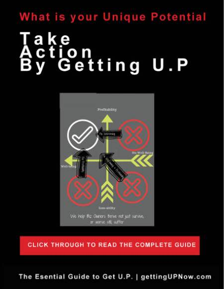 PART 4: Take Action by Getting U.P.